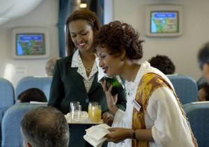 Ethiopian Airline service