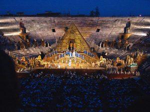 Opera of Verona in Italy
