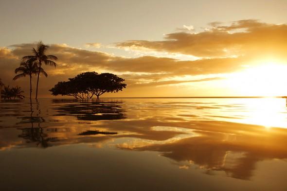 beaching Maui