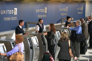 Checking in at United