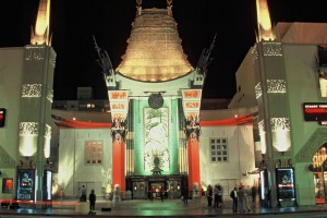 Grauman's Chinese Theater Hollywood icon