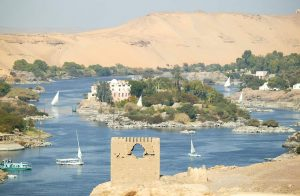 Luxor over the Nile