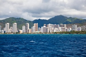 View of Waikiki on Oahu
