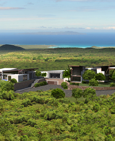 Luxury eco-lodge in the Galapagos