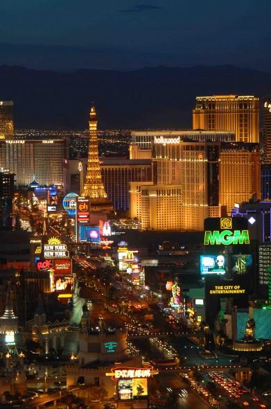 Las Vegas neon