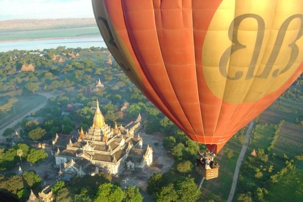 Balloon over Rangoon