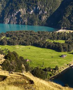 Resort in Patagonia