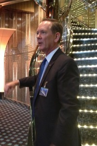 Costa Cruise's North America's Vice President of Sales and Marketing Scott Knutson