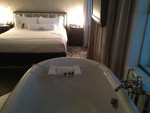 Room view at Shangrila Hotel in Santa Monica, CA