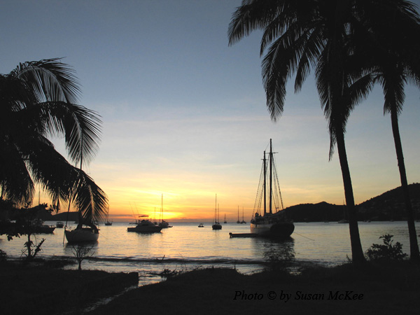 Learning to Sail on a Caribbean Vacation