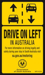Driving in Australis