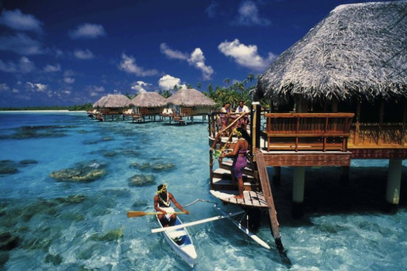 Hotel and dining in Tahiti