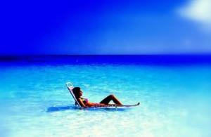 Summer vacation alone