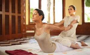 Ayurvedic resort in India