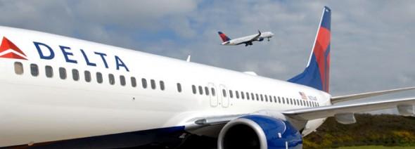 Delta plane shot