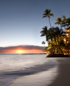 Luxury Hotel on Oahu