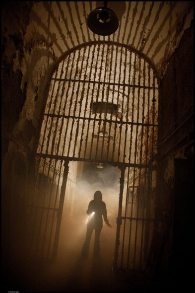 Haunted prison in Philedelphia