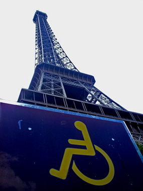 Eiffel Tower wheelchair