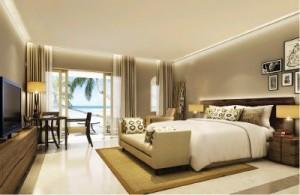 Mauritius resort room