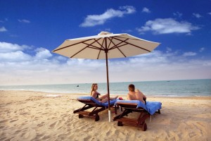 luxury beach travel