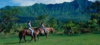 Horseback Riding in Kauai
