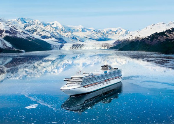 glaciers in alaska by cruise