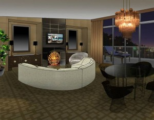 Suite 100 at the Beverly Hilton