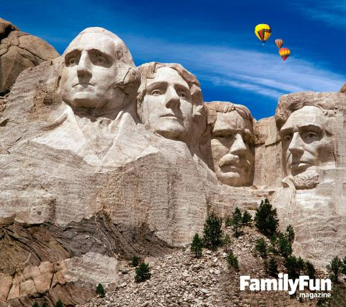 Family vacation at Rushmore