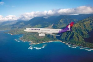 Flying to Hawaii