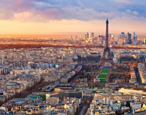 Top vacation destination paris