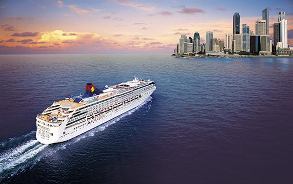 Cruise line in Asia