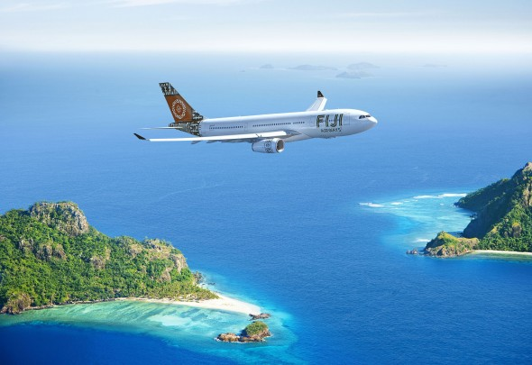 Flight to Fiji