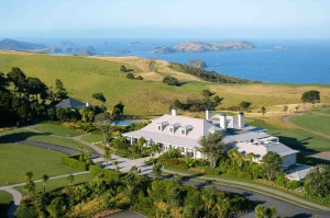 New Zealand Kauri Cliffs resort