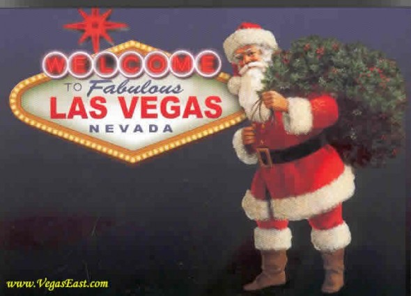 Las Vegas Lights Up for Christmas