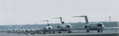 U.S. Airports crowded
