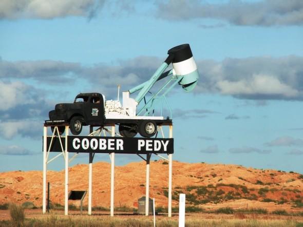Coober Pedy outback aus