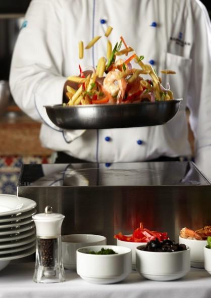 Dining and pasta on Norwegian Getaway