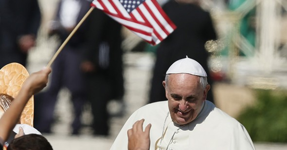 Pope visit USA