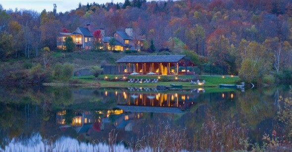 Fall vacation in vermont