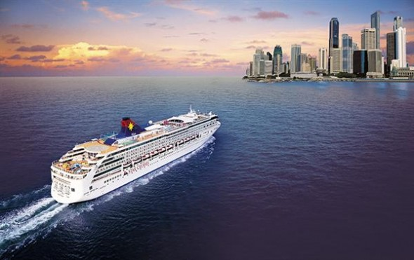 cruise to Hong kong