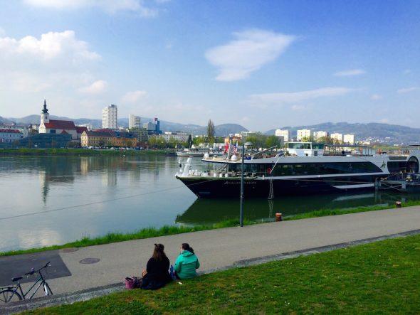 Avalon docked