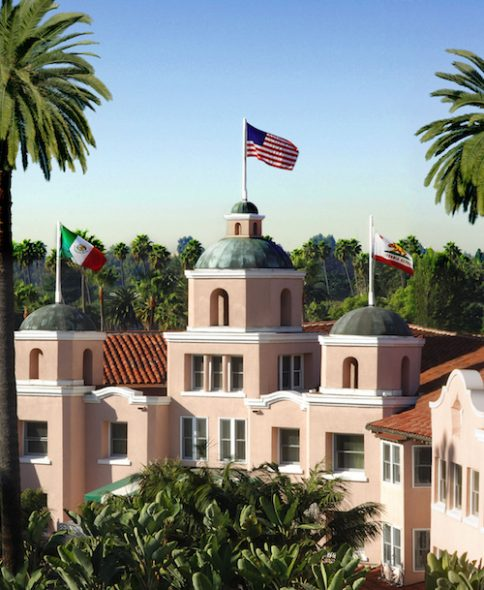 Beverly Hills Hotel Pink Palace