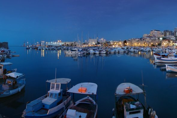 harbour-night-crete