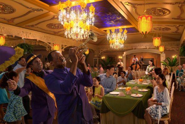 Disney Wonder Enhancements Tiana's