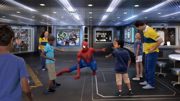 Disney Wonder Enhancements Marvel