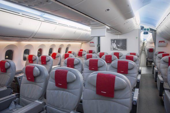 BT Norwegian Premium cabin