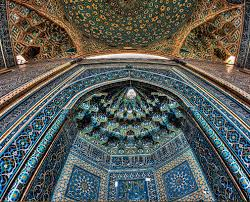 Iran mosque attraction