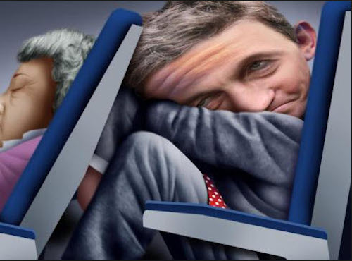 crowded Airline seats
