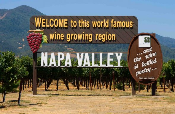 touring wine country california